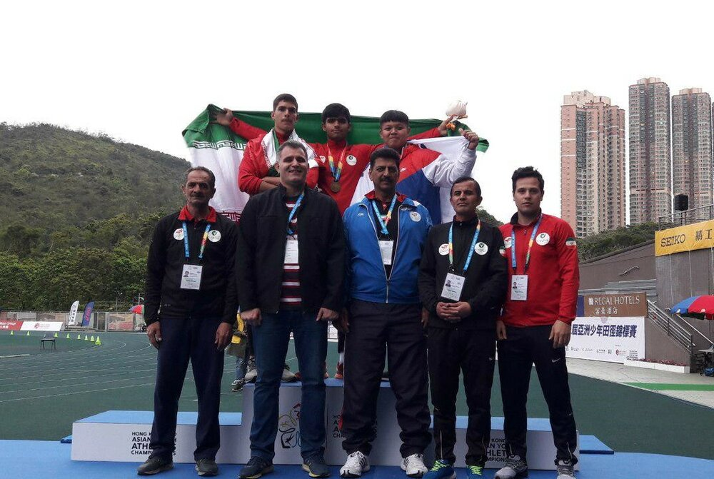 Iranian athletes win two gold at Asian Youth Championships