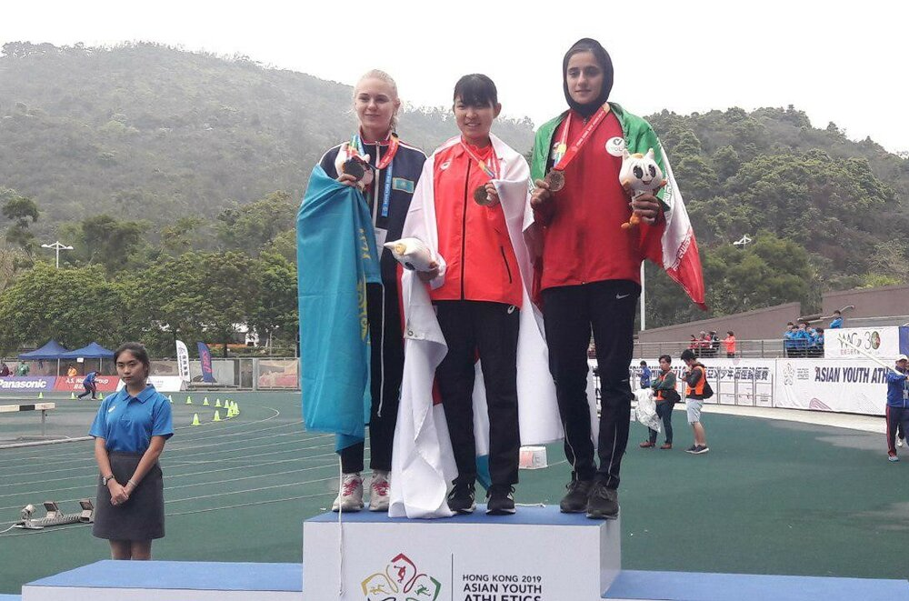 Iranian duo win two bronzes at Asian Youth Athletics Championships