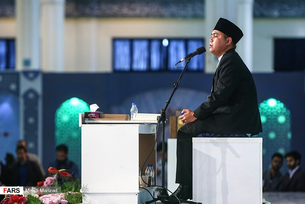 Indonesian reciter Salman Amrillah finishes first at Iran Quran competition