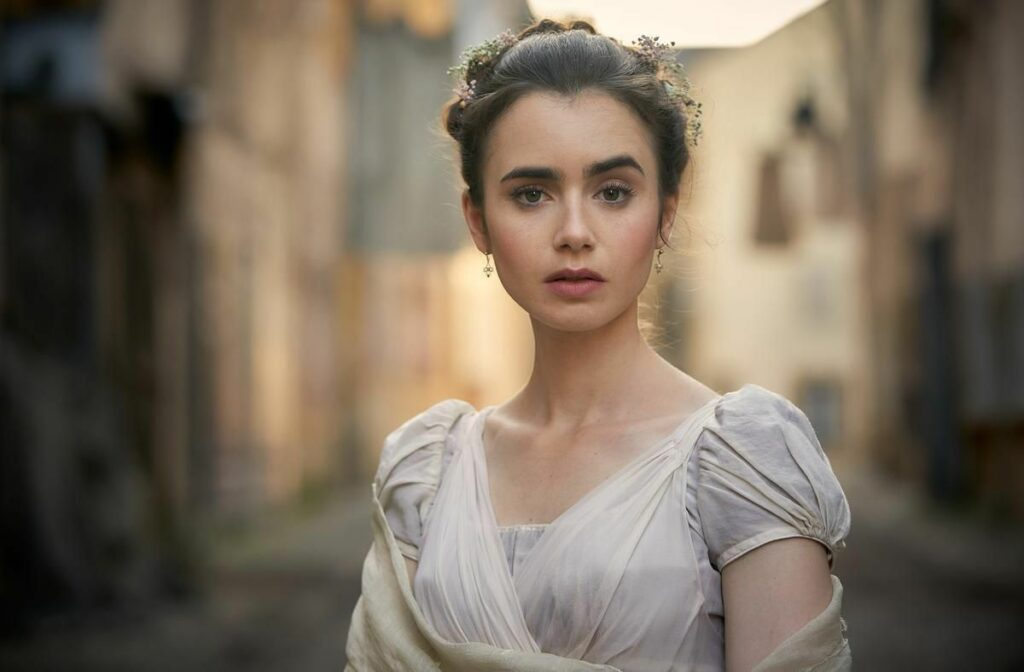 Les Misérables star Lily Collins says fate led her to TV miniseries