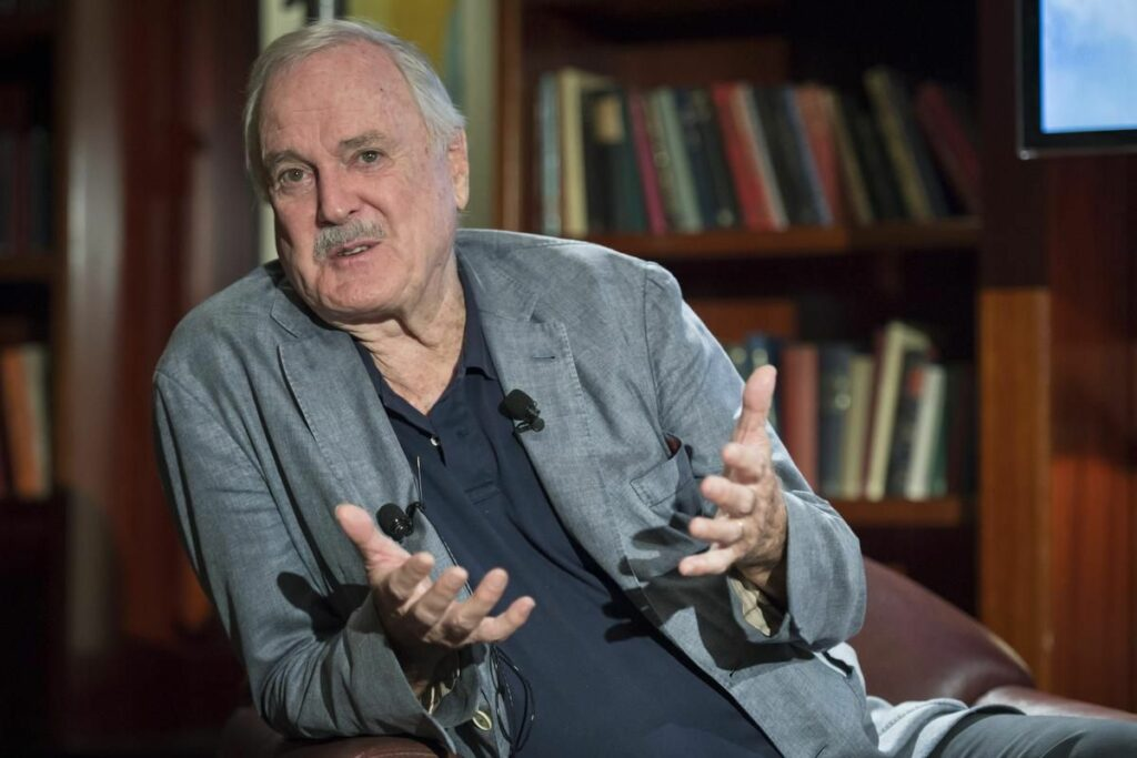John Cleese's divorce — and his quest for sunny island property — spur Canadian tour