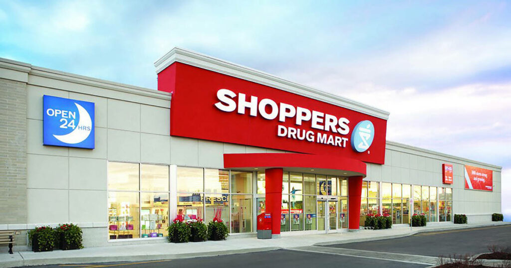 Shoppers Drug Mart is offering same-day delivery in Ontario